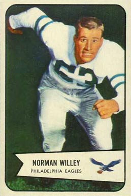 1955 Bowman Lee Riley #21 Football Card
