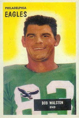 1955 Bowman Bobby Walston #13 Football Card