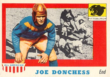 1955 Topps All-American Joe Donchess #65 Football Card
