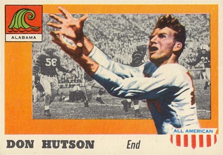 1955 Topps All-American Don Hutson #97 Football Card