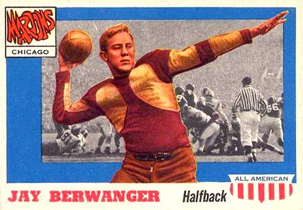 1955 Topps All-American Jay Berwanger #78 Football Card