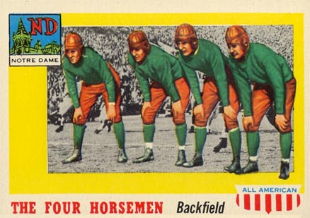1955 Topps All-American Harry Stuhldreher #68 Football Card