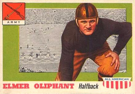 1955 Topps All-American Elmer Oilphant #45 Football Card
