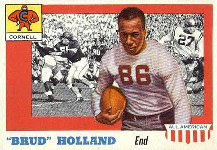 1955 Topps All-American Jerome Holland #39 Football Card