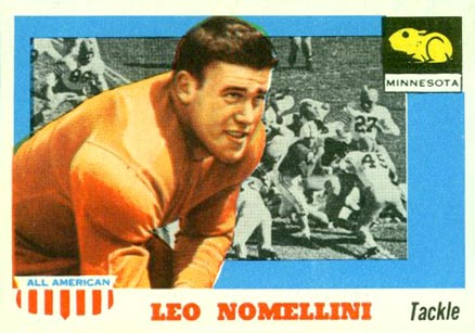 1955 Topps All-American Leo Nomellini #29 Football Card