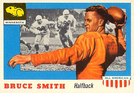1955 Topps All-American Bruce A. Smith #19 Football Card