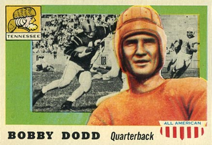 1955 Topps All-American Bobby Dodd #11 Football Card