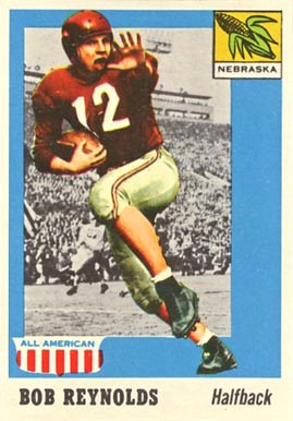 1955 Topps All-American Bob Reynolds #17 Football Card