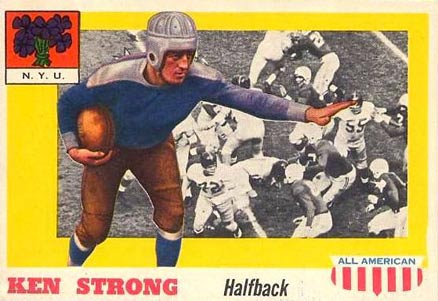1955 Topps All-American Ken Strong #24 Football Card