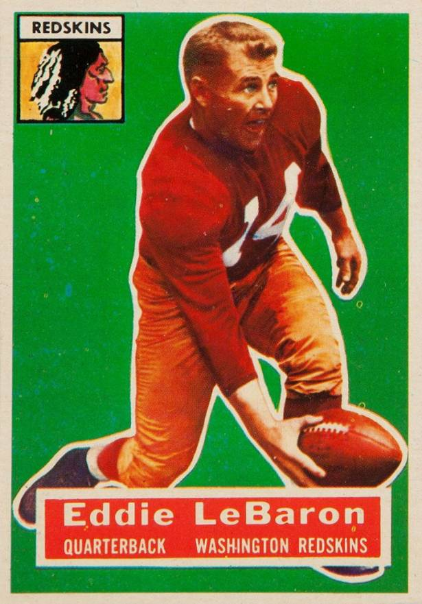 1956 Topps Eddie Lebaron #49 Football Card