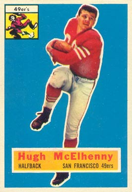 1956 Topps Hugh McElhenny #50 Football Card