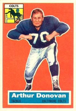 1956 Topps Art Donovan #36 Football Card