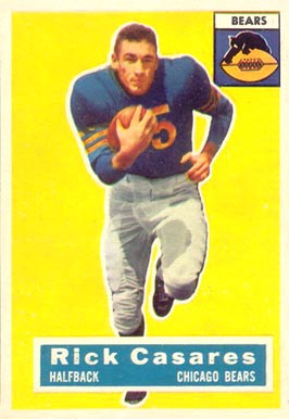 1956 Topps Rick Casares #35 Football Card