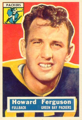 1956 Topps Howard Ferguson #31 Football Card