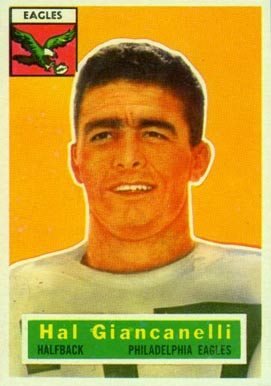 1956 Topps Harold Giancanelli #16 Football Card