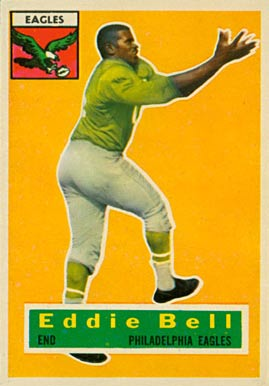 1956 Topps Eddie Bell #4 Football Card