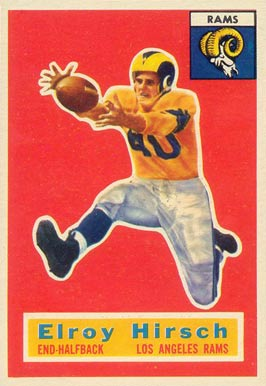 1956 Topps Elroy Hirsch #78 Football Card