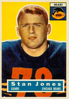 1956 Topps Stan Jones #71 Football Card