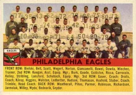 1956 Topps   #40 Football Card