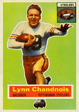 1956 Topps Lynn Chandnois #39 Football Card