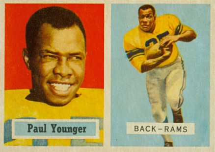 1957 Topps Tank Younger #152 Football Card