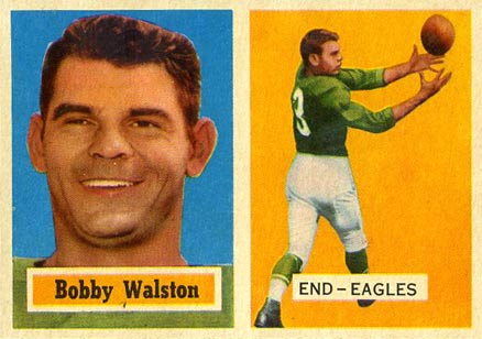 1957 Topps Bobby Walston #61 Football Card