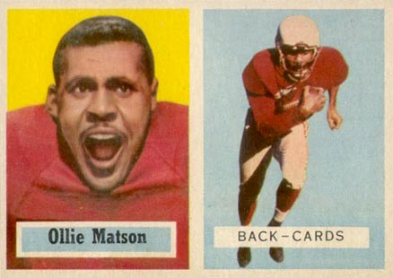 1957 Topps Ollie Matson #26 Football Card