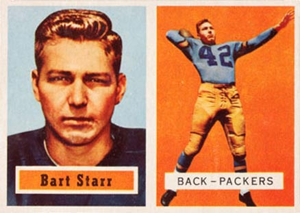 1957 Topps Bart Starr #119 Football Card