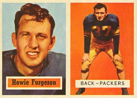 1957 Topps Howard Ferguson #132 Football Card