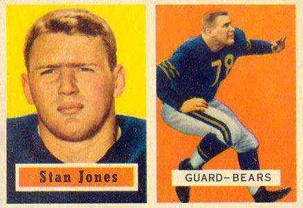 1957 Topps Stan Jones #96 Football Card Value Price Guide