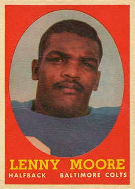 Image result for lenny moore hall of fame year