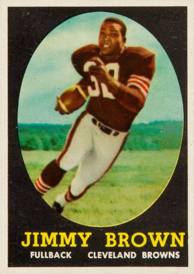 1958 Topps Jim Brown #62 Football Card