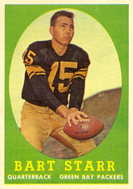 1958 Topps Bart Starr #66 Football Card