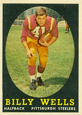 1958 Topps Billy Wells #49 Football Card