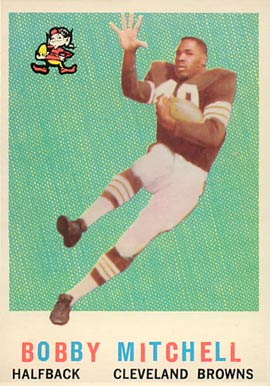 1959 Topps Bobby Mitchell #140 Football Card