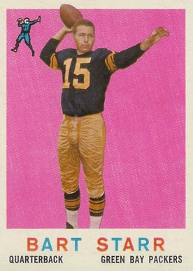 1959 Topps Bart Starr #23 Football Card