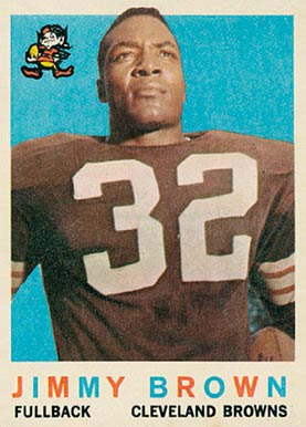 1959 Topps Jim Brown #10 Football Card