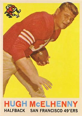 1959 Topps Hugh McElhenny #5 Football Card