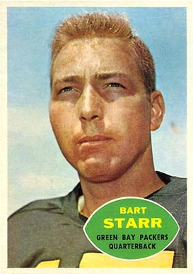 1960 Topps Bart Starr #51 Football Card