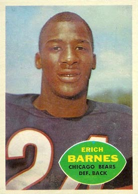 1960 Topps Erich Barnes #19 Football Card