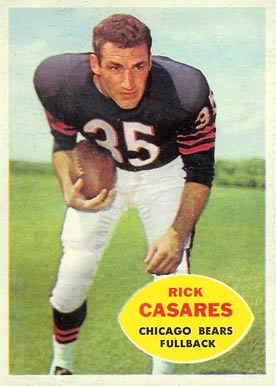 1960 Topps Rick Casares #13 Football Card