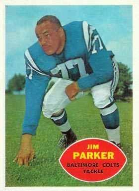 1960 Topps Jim Parker #5 Football Card