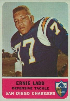 1962 Fleer Ernie Ladd #86 Football Card