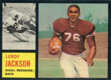 1962 Topps Leroy Jackson #174 Football Card
