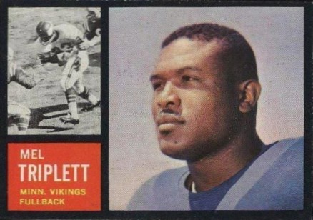 1962 Topps Mel Triplett #93 Football Card