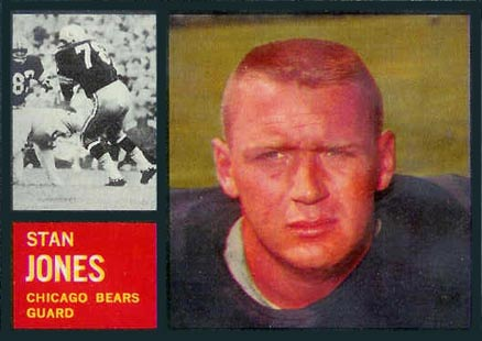1962 Topps Stan Jones #18 Football Card