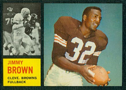 1962 Topps Jim Brown #28 Football Card
