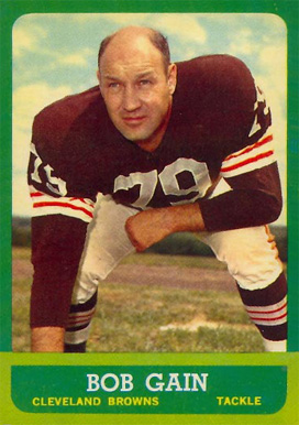 1963 Topps Bob Gain #23 Football Card