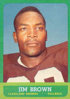 1963 Topps Jim Brown #14 Football Card