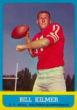 1963 Topps Bill Kilmer #136 Football Card